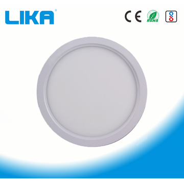 Panel de luz LED montado en superficie redonda 24W