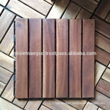Acacia Interlocking Deck Tiles