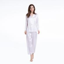 Comfy Two Piece Set Long Sleepwear Nightwear