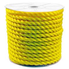 Longlife Polyethylene Poly twisted  rope for marine usage