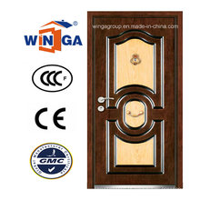 DIY New Outside MDF Security Steel Steel Blinded Door (W-A13)