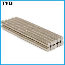 Aimant NdFeB fort de haute qualité avec forme de cylindre