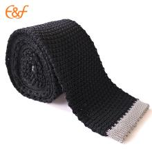 100% tissu de soie pour attacher votre propre cravate tricotée de marque