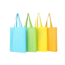 Hot selling promotional high quality cheap gift printed recycled grocery foldable polyester tote shopping bag with custom logo