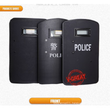 Fragments Protection Bulletproof Shield Portable Nij