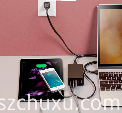 5-Port 8A USB Smart Charger