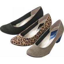 2015 Primavera mulheres wedge calcanhar sapatos casuais microfibre superior sapatos macios