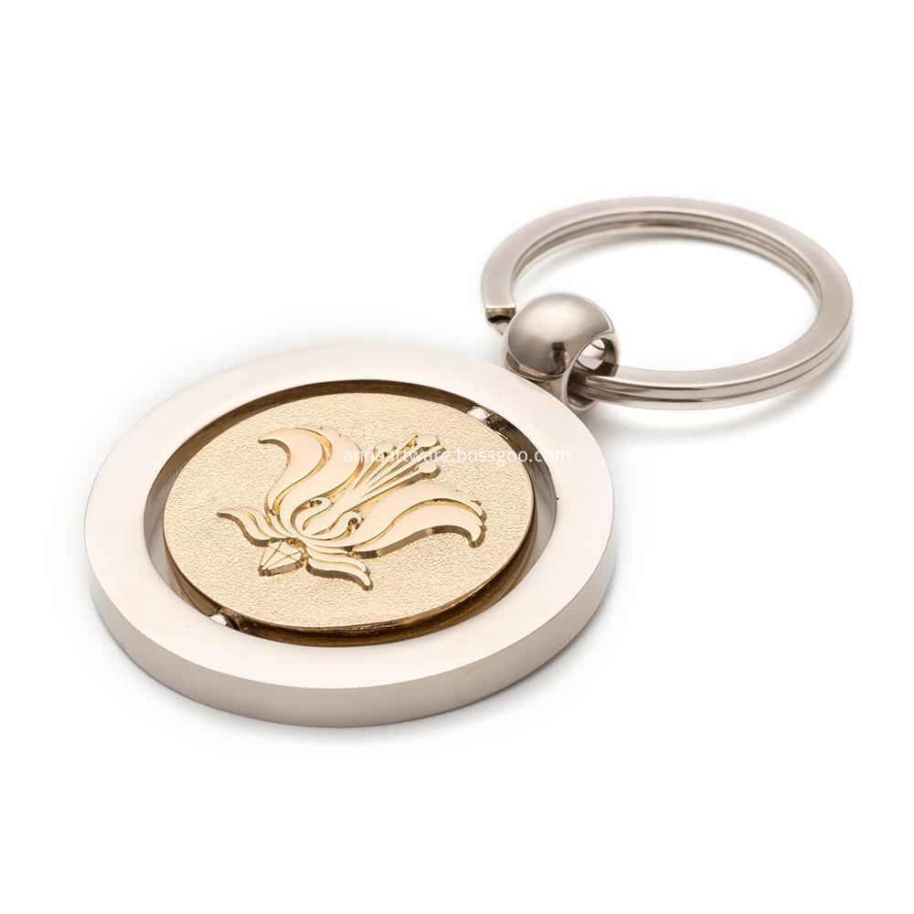 Metal Keychain 2
