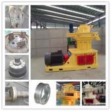 Machine d'extrudeuse de granule de la biomasse 1000kg / H à vendre