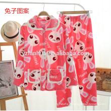 animale filles impression confortable pyjama doux
