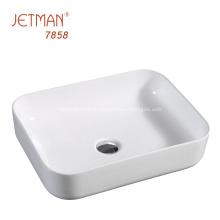 Promotion accessoires de salle de bain bassin d'art en céramique