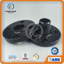 Slip-on en acier de carbone bride Bride forgé à ASME B16.5 (KT0011)