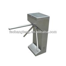 ручная автоматическая вертикальная штатив турникет с 304# нержавеющей стали корпус