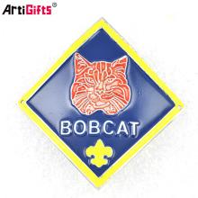 Wholesale custom logo metal brand label