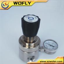Regulador de pressão de água de gás natural de aço inoxidável 316