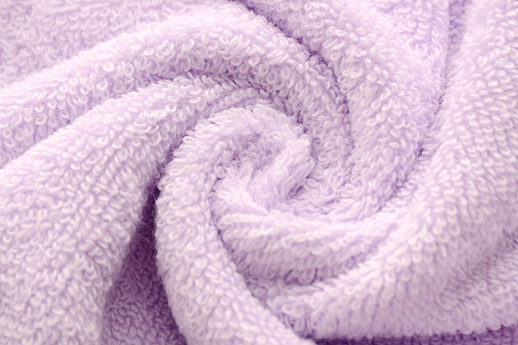 Violet Cotton Towel