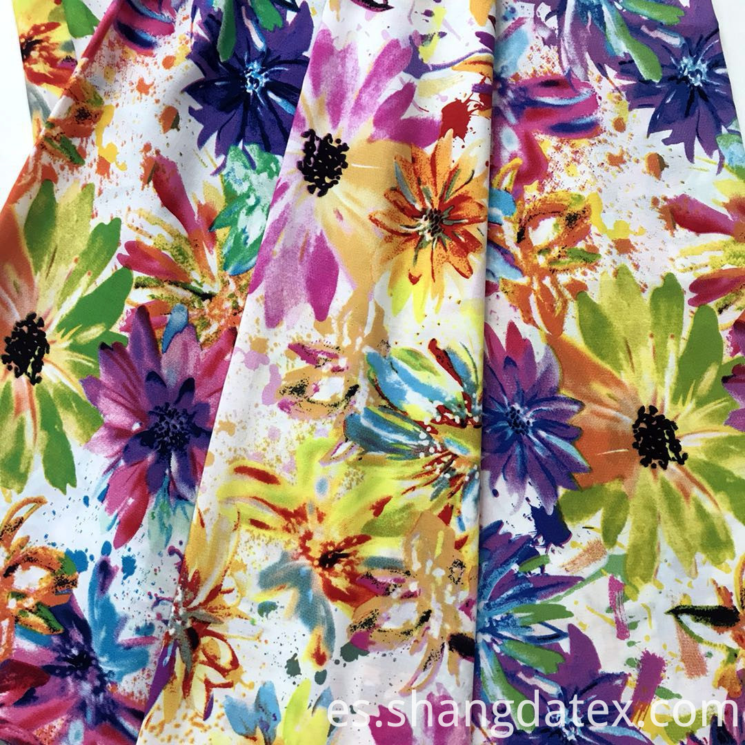 summer rayon semi digital fabric