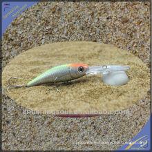 MNL051 11 CM / 7G señuelo de la pesca frente a la serpiente de agua de plástico minnow cebo de pesca señuelo minnow