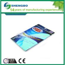 Tissu facile à nettoyer 33 * 50 cm vert bleu