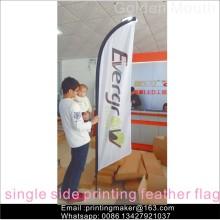 Benutzerdefinierte Werbung Feder Flag Banners Signs