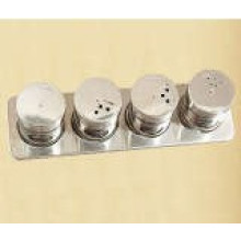 Stainless Steel Magnetic Spice Rack (CL1Z-J0604-4C)