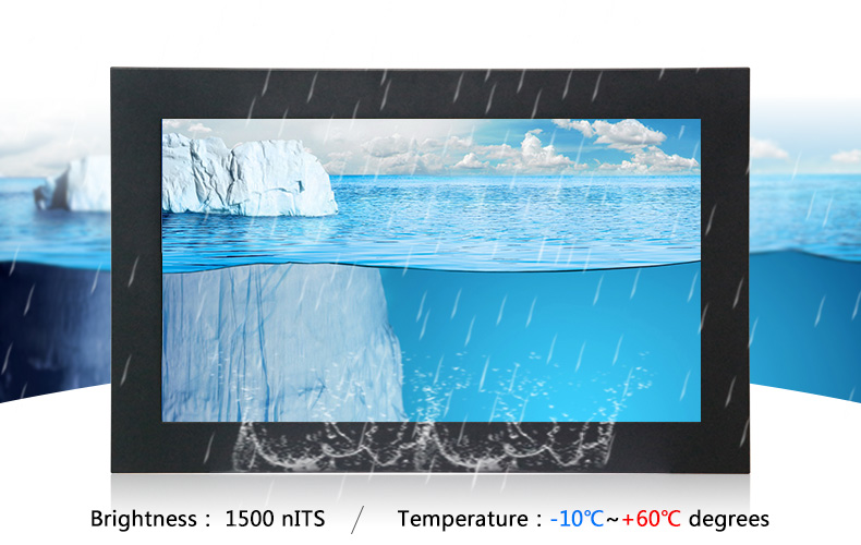 Waterproof LCD Monitor Enclosure