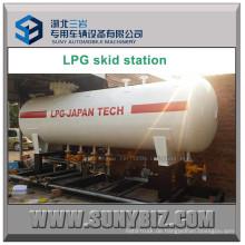40m3 LPG Lagertank Skid Mounted Pump Station