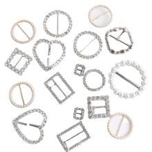 Damen Gürtelschnalle Zinklegierung mit Perlen & Steinen