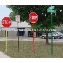Powder Coated Sign Post