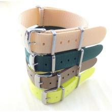 Yxl-453 18mm pulseira de relógio de aço inoxidável, Ladies Watch Strap OEM OEM Nylon Watch Strap Bandas Nato Band