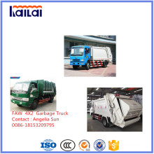 Faw 4X2 Garbage Truck for Sale