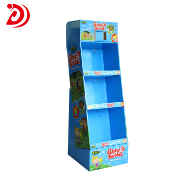 Shampoo floor display stands