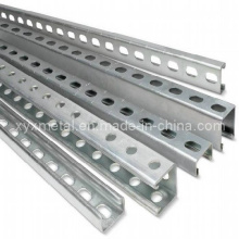 C Shape Steel Profil Section Slotted Unistrut Channel