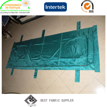 Tecido de tafetá 190t respirável usado ao ar livre para sacos de dormir