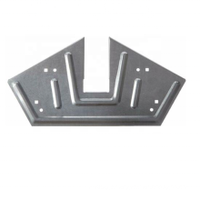 Custom Made Outdoor Metal Bracket Framing Bracket for Wood Single-side Bracket,triangle Bracket Steel,iron Nonstandard 0.9-3mm