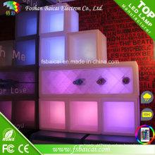 LED Eiskübel Glühender Weinbehälter Neuer Eiskübel