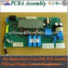 circuit imprimé d'inverseur avec l'assemblée de carte PCB de haute qualité, service d'assemblée de carte PCB à faible volume de conseil troué
