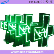 Cruz do diodo emissor de luz da farmácia da cor completa exterior de P10