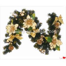 Горячая продажа декоративные искусственные цветы гарланд
