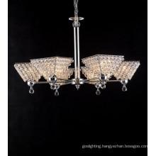 Modern Clear Chandelier Crystal Light (6039-6L)