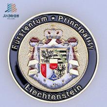 O metal feito sob encomenda do logotipo do esmalte da carcaça da liga da qualidade superior comemora ou moeda da lembrança