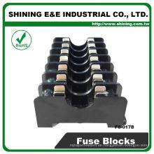 FS-017B Schalttafelmontage Midget Typ 600V 7 polig 6x30 10A Sicherungshalter