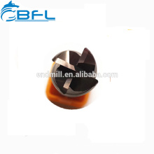BFL Угловая концевая фреза, Твердосплавные 4-канатные угловые фрезы, Концевые фрезы с ЧПУ