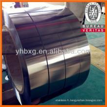 Bande en acier inoxydable 316L avec de bonne qualité (cercle en acier 316L)