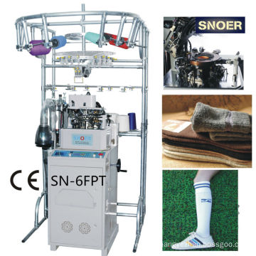 Full Computerized Cotton Socks Knitting Machine