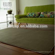 100% polyester microfiber microfiber polyester funny rug