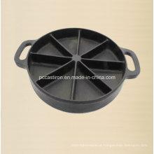 Fornecedor De Molde De Pan De Bolo De Ferro Fundido Preseaseoned Da China