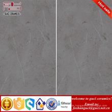Innen- und Außenprodukt rustikal grau glasierte dünne Keramikfliesen