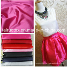 Elastic Satin with Good Quality for Lady Dress Fabric