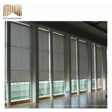 materiales de pvc de alta gama para persianas enrollables tela opaca